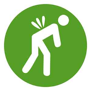 Lower back pain is cited by OSHA as a common ergonomic health issue in most workplaces.